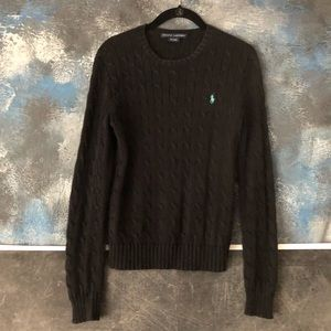 Ralph Lauren Cable Knit Sweater - Size S